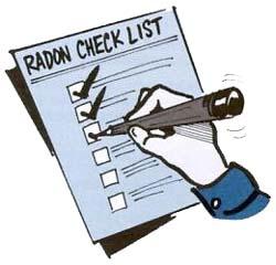 radon checklist