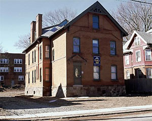 historic Victorian style home restored